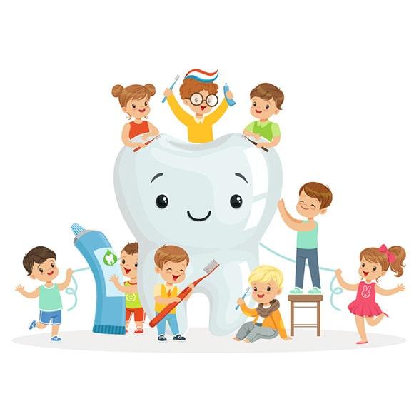 pranje zubi kod djeteta