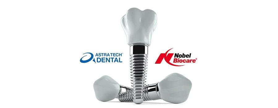 Nobel i Astra zubni implantati